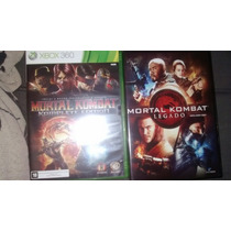 Mortal Kombat Komplete Edition Xbox 360 Original+filme Dvd