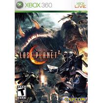 Jogo Xbox 360 Lost Planet 2 Original E Lacrado Midia Fisica
