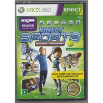 Kinect Sports: Segunda Temporada - Xbox 360 Pronta Entrega.