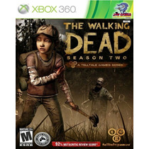 Jogo Xbox 360 - The Walking Dead Season 2 - Novo