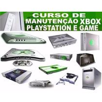 Manutenção Xbox, Playstation, Vídeo Games Em 05 Dvd Frete G