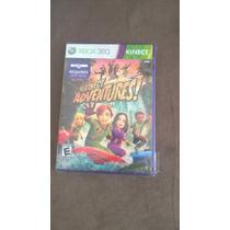 Jogo Original Novo E Lacrado Kinect Adventures