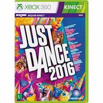 Just Dance 2016 + Kinect Sports Xbox360 Novos Lacrados