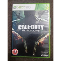 Call Of Duty Black Ops (jogo Original Xbox360 Midia Fisica)