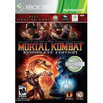 Mortal Kombat Komplete Edition-xbox360 Jogo Original Lacrado
