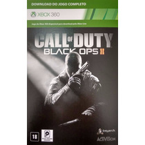 Call Of Duty Black Ops 2 Xbox 360 Download Completo Via Key.