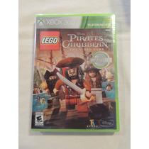 Jogo Xbox 360 Piratas Do Caribe Lego