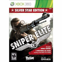 Sniper Elite V2 Silver Star Edition Xbox 360 Usado Em Otimo