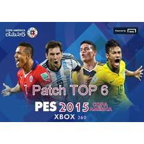 Patch Top 6 Pes15 Xbox Copa América C/ Pen Drive 8 Gb