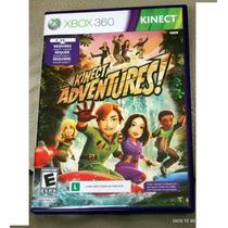 Kinect Adventures Jogo Xbox 360 Original Seminovo