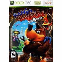Manual De Instruções Banjo Kazooie Nuts & Bolts Xbox 360