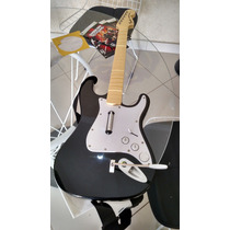 Guitarra Fender Stratocaster Rock Band Xbox 360 Sem Fio