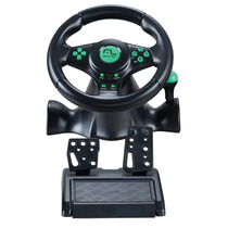 Volante 4 Em 1 Xbox360 Ps2 Ps3 E Pc Cambio Js075 Multilaser