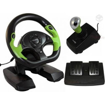 Volante Xbox 360 Pc Dual Shock Need For Speed Gta Pro 50
