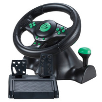Volante 4 Em 1 Xbox360 Ps2 Ps3 E Pc Com Pedal