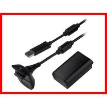 Bateria E Carregador 4800 Mah Xbox + Frete Grátis T/brasil