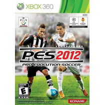 Pes 2012 Xbox 360 Original Pouco Uso