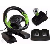 Volante Xbox 360 Pc Dual Shock Pro 50