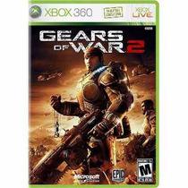Manual De Instruções Jogo Gears Of War 2 Xbox 360 Original