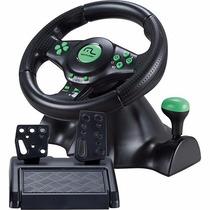 Volante 4em1 Xbox360/ps2/ps3/pc C/cambio Multilaser