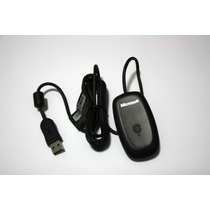 Receiver Controle Wirelees Xbox360 P/ Pc Original Microsoft