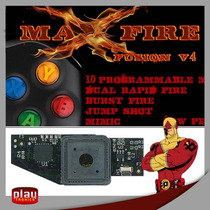 Max Fire Fusion V4 Controle Xbox 360 - Rapid Fire +35 Modos