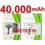 2x Baterias 40.000mah Xbox 360 + 2x Cabo Controle Carregado