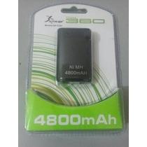 Bateria Do Controle Xbox 360 4800mah - Carrega Enquanto Joga