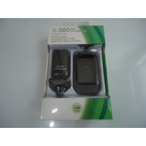 Bateria + Estação De Recarga + Cabo Usb Controle Xbox 360