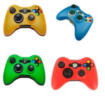10 Capas De Silicone Para Controle De Xbox 360