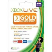 Xbox Live Assinatura Gold 3 Meses Para Xbox 360 Nota Fiscal