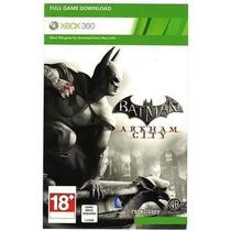 Cartão Xbox Live Jogo Batman Arkham City Xbox 360 - Download
