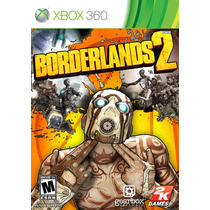 Borderlands 2 Xbox 360 Original Gold Envio Rapido Digital