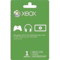 Cartão Xbox Live Gold Br 1 Mês Envio Imediato