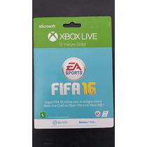 Xbox Live Gold Cartão 12 Meses + 1 Mês Ea Access