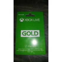 Xbox Live Gold 1 Ano De Assinatura