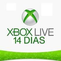 Xbox Live Gold Cartão 14 Dias Trial - Us E Br Envio Imediato