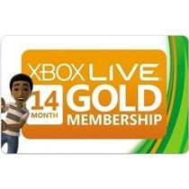 Xbox Live Assinatura Gold 1 Ano + 2 Meses Bonus Xbox 360