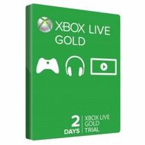 Xbox Live Gold Usa Br 2 Dias 48 Horas Envio Imediato!