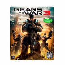 Gears Of War 3 Xbox 360 Legendado Mídia Digital Download