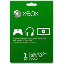 Xbox Live Gold Assinatura De 1 Mês Envio Imediato Via Email
