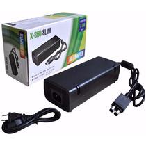 Fonte Para Vídeo Game Xbox 360 Slim 135w Bivolt 110v 220v Ac