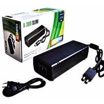 Fonte Xbox 360 Slim Bivolt 110v 220v 135w Ac Cabo De Forca