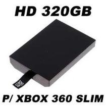 Hd 320gb P/xbox360 Slim E S.slim Novo Pronta Entrega