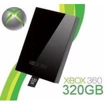 Hd Original 320gb Xbox 360 Disco Rígido Hdd Microsoft