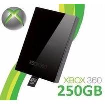 Hd 250gb Xbox 360 Slim Original Microsoft + Novo + Garantia