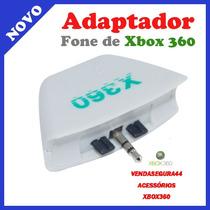 Conversor Adaptador De Fone De Ouvido E Mic. Para Xbox 360