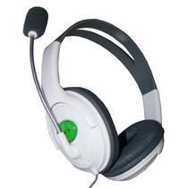 Fone De Ouvido Headset Com Microfone Para Xbox360 - L003na