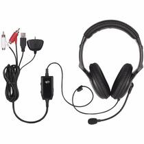 Fone Headset Madcatz Ampx P/ Xbox 360 Chat E Som Do Jogo