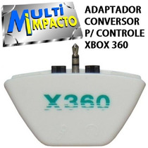 Adaptador Conversor Headset Microfone Xbox 360 Frete Barato